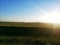 A beautiful Saskatchewan summer evening - #Maple_Creek #Saskatchewan #Travel