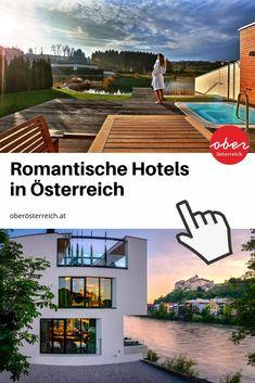 Urlaub zu zweit in Österreich geplant? Wie wäre es mit einer romantischen Überraschung in einem stilvollen Hotel in Oberösterreich? Wir haben die schönsten Hotels für verliebte Paare und Flitterwöchler gefunden: vom Salzkammergut bis ins Mühlviertel. Hier finden Paare die perfekte Auszeit zu zweit in Österreich! #Romantikhotels #Auszeit #Paarzeit #Hochzeitsreise #Flitterwochen #Österreich #Oberösterreich Wellness, Mansions, House Styles, Travel, Viajes, Manor Houses, Villas, Mansion, Destinations