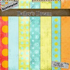 Free digital scrapbook papers Baileys Dream from Eyeinspire