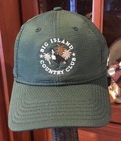 size 40 93a1f 2bc50 BIG ISLAND COUNTRY CLUB HAWAII Under Armour Golf Hat Cap Green Adjustable    eBay Big Island