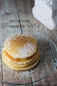 Homemade Pancake Mix #Recipe #Breakfast