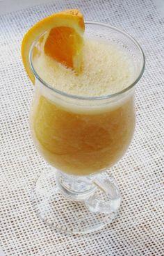 Słodzę Solę Pieprzę: Smoothie pomarańcza + banan + ananas