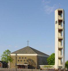 Fatimakerk Offenbeek Netherlands, Holland, Multi Story Building, Memories, Outdoor Decor, Home Decor, The Nederlands, The Nederlands, Memoirs