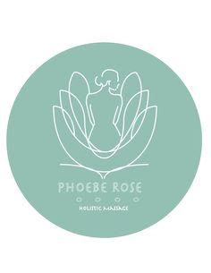 LOGO design for Phoebe Rose Holistic Massage ::: #logo #graphics #jessicarosheen                                                                                                                                                     More