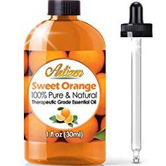 Artizen Tangerine Essential Oil Pure & Natural - UNDILUTED) Therapeutic Grade - Huge Bottle - Perfect for Aromatherapy, Relaxation, Skin Therapy & More! Now Essential Oils, Copaiba Essential Oil, Essential Oils For Massage, Eucalyptus Essential Oil, Essential Oil Perfume, Therapeutic Grade Essential Oils, Tea Tree Essential Oil, Wild Orange Essential Oil, Clary Sage Essential Oil