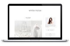 Responsive WP Theme - WhiteNoise by Light Morango on Creative Market