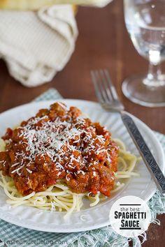 The BEST Spaghetti Sauce | Taste and Tell
