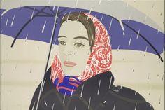 Alex Katz - Blue Umbrella absolute favorite
