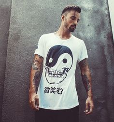 SMILE [微笑む] TEE | | SHOP OUR LATEST RANGE AT NAKENTHELABEL.COM | | #nakenthelabel #happy #sunday #funday #menswear #mensfashion #smile #tee #clothing #street #surf #style #yinyang #love #live #life #happydays #australia #sweden #bali #design #skull #tattoo #online #shopping #weekend #vibes