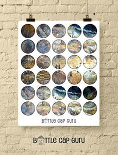 CHURCH WALL Graffiti Art / 1 Inch and 1.5 Inch Digital Collage Sheets by BottleCapGuru Digital Form, Digital Collage, Digital Image, Bottle Cap Images, Abstract Images, Collage Sheet, Graffiti Art, Printables, Wall