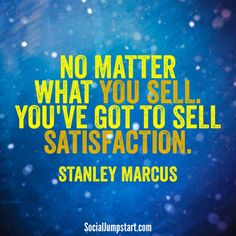 Sell Satisfaction