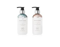 DEAD CLEAN's hand amenities - 267ml REJUVENATING HAND & BODY BALM & NATURALLY HYDRATING HAND WASH