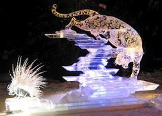 Amazing ice sculptures in Fairbanks