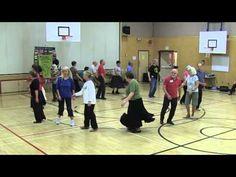 DANCING ON WATER Circle Dance at 2014 SIFD Surrey Int'l Folk Dance Workshop - YouTube
