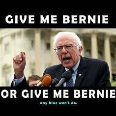 Bernie needs to realize that if he's not on a ticket in the general election...the country is fucked, the environment is screwed, social security and medicare are at risk and voters rights will be nonexistent !  GO GREEN BERNIE