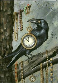Raven by Robin Leath. Crow Art, Raven Art, Bird Art, Blackbird Singing, Quoth The Raven, Crows Ravens, Jackdaw, Animal Totems, Illustrations