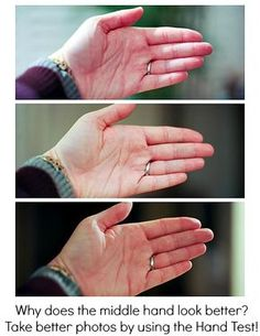How can the hand test help you take better photos? read about it now!