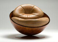 1974 Esfera Armchair by Ricardo Fasanello