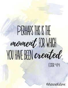 graduation quotes Bible quotes ll Graduation quotes ll Ester ll Perhaps this is the moment for which you have been created. (Created Using ll Watercolor brushes by McBadshoes) Inspirational Graduation Quotes, Inspirational Bible Quotes, Bible Verses Quotes, College Graduation Quotes, Bible Scriptures, Positive Quotes, Prom Quotes, Nurse Quotes, Quotes To Live By