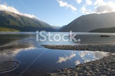 Lake Rotoiti, Nelson Lakes National Park, NZ Royalty Free Stock Photo