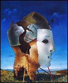 Ocaso - Pintura de Hèctor Poleo - 1949.