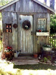 Judy Myers potting shed