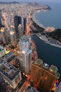 Haeundae,Busan,South Korea