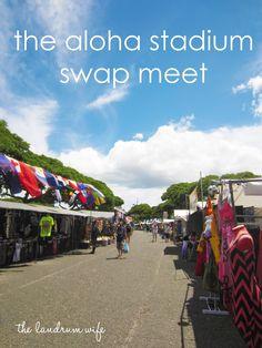 The Landrum Wife: Getting to Know Hawaii: Aloha Stadium Swap Meet