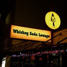 The Whiskey Soda Lounge