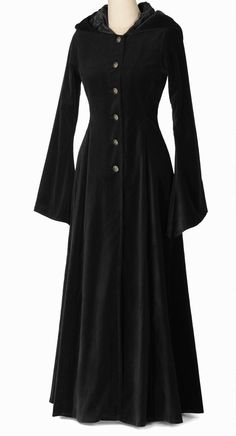 442WL - Wool Beltane Coat - Gothic, romantic, steampunk clothing from The Dark Angel