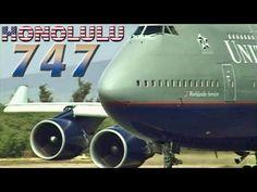 United Boeing 747-100, 747-200 & 747-400 at Honolulu (2000) - YouTube