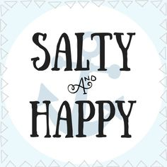 Salty & Happy White Tshirt Salty and Happy Beach Outfit at Short Beach Quotes, Beachy Quotes, Summer Quotes, Beach Quotes And Sayings, Ocean Quotes, Romantic Quotes, Lyric Quotes, Beach Captions, Beach Humor