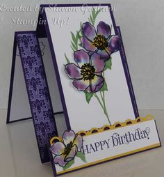 Fabulous Florets meets Science by Sharon Graham - Cards and Paper Crafts at Splitcoaststampers