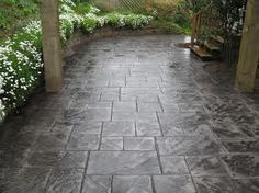 plain concrete patios - Google Search