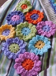 Rengarenk çiçekler