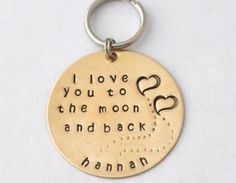 GIFT Key Chain- I Love You To The M..