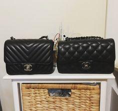 bf4c2a22f143 tPF Member: Agnesman1996 Bag: Chanel Chevron Square Mini and Chanel  Rectangular Mini Flap Bag