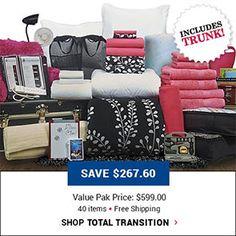 Shop total transition