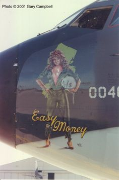 "KC-135 Stratotanker - ""Easy Money""."