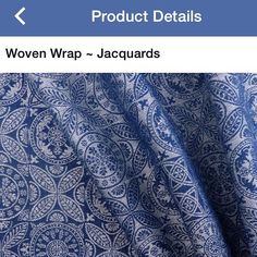 Hello, beautiful!    Did you know you can shop directly thorough our Facebook store? Keep in mind prices are in CAD and ... there's no tax.  #littlezenone #didylove #didymos #azulejo #bluewrap #babywearingshop #thebabywearingshop