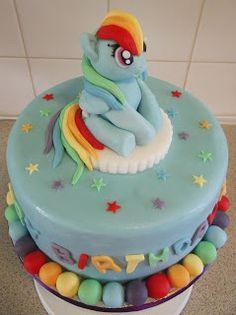 Rainbow Dash Cake My Cakes My Work Www