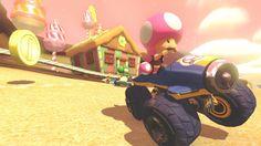 Toadette - Mario Kart 8, Wii U