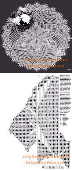 Lace Knitting, Knitting Stitches, Knitting Needles, Knitting Patterns, Crochet Patterns, Tunisian Crochet, Free Crochet, Knit Crochet, Lace Doilies
