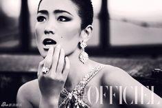 """Gong Li in """"L'Officiel"""""""