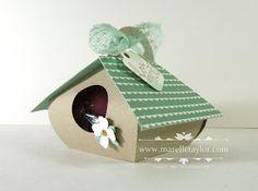 Little Easter Birdhouse (Marelle Taylor Stampin' Up! Demonstrator Sydney…