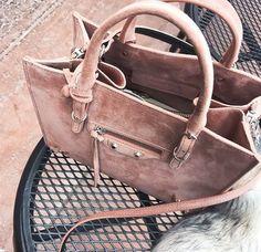 bag purse designer suede pink balenciaga designer bag dusty pink suede bag all pink wishlist kamel leather