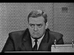 What's My Line? - Raymond Burr; Buddy Hackett [panel] (Jun 3, 1962) - YouTube