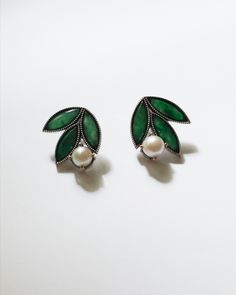 Bespoke, Jade, Pearl Earrings, Pearls, Jewelry, Taylormade, Pearl Drop Earrings, Pearl Studs, Bijoux