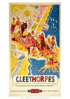Giclee Print: Cleethorpes, BR (ER), c.1960 : 33x23in