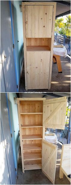 Use Pallet Wood Projects to Create Unique Home Decor Items – Hobby Is My Life Cabinet Furniture, Ikea Furniture, Pallet Furniture, Rustic Furniture, Furniture Showroom, Modern Furniture, Furniture Companies, Office Furniture, Furniture Ideas